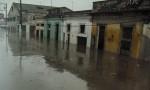 Zona del Pontón inundada el pasado 29 de abril (Foto cedida por vecinos del lugar)