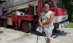 Reinaldo Suárez - El Pata - primer técnico de rescate (Foto: Elaine Díaz)
