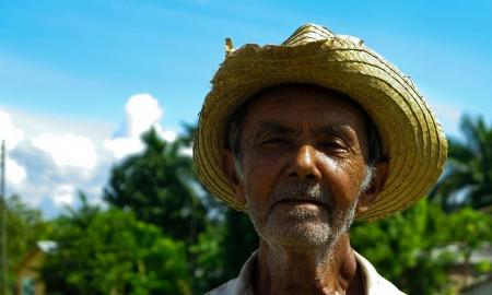 Salvador casi cumple los 80 años (Foto: Mónica Baró)