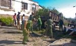 Brigadas en Songo-La Maya tras el paso del huracán Sandy (Fotos de archivo)