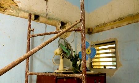 En 2013 Odalys solicitó un subsidio para la reparación del techo de su casa