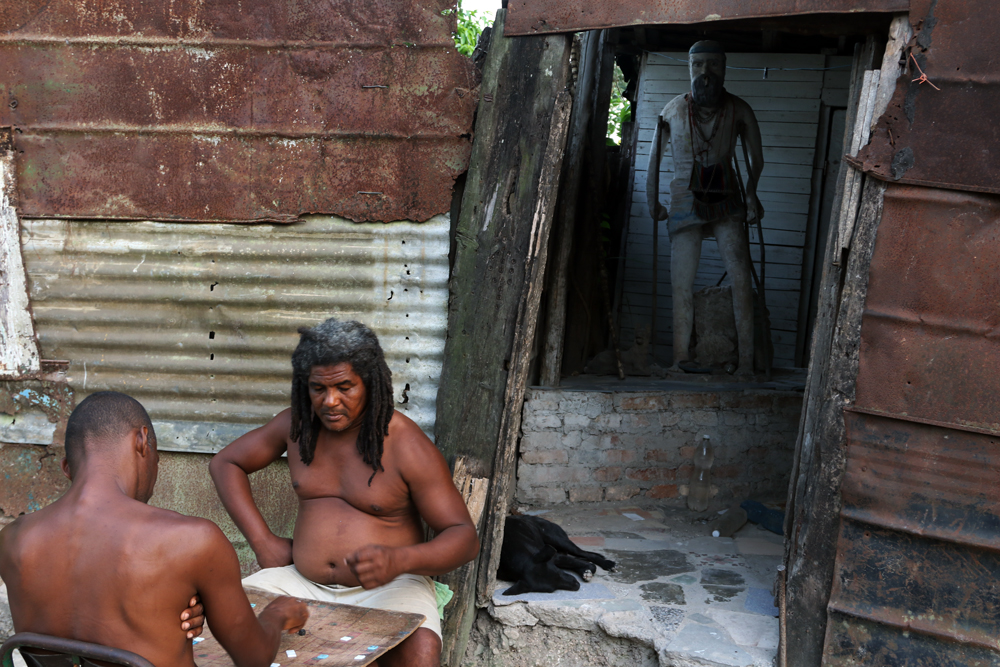 En Indaya también se juega y se apuesta (Foto: Ismario Rodríguez)