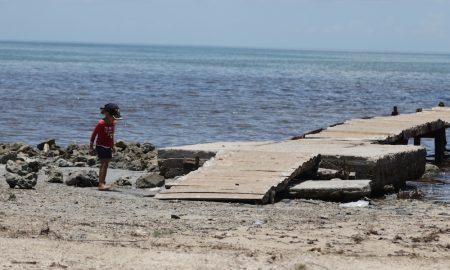 Pareciera que nada ha pasado en Playa del Caimito