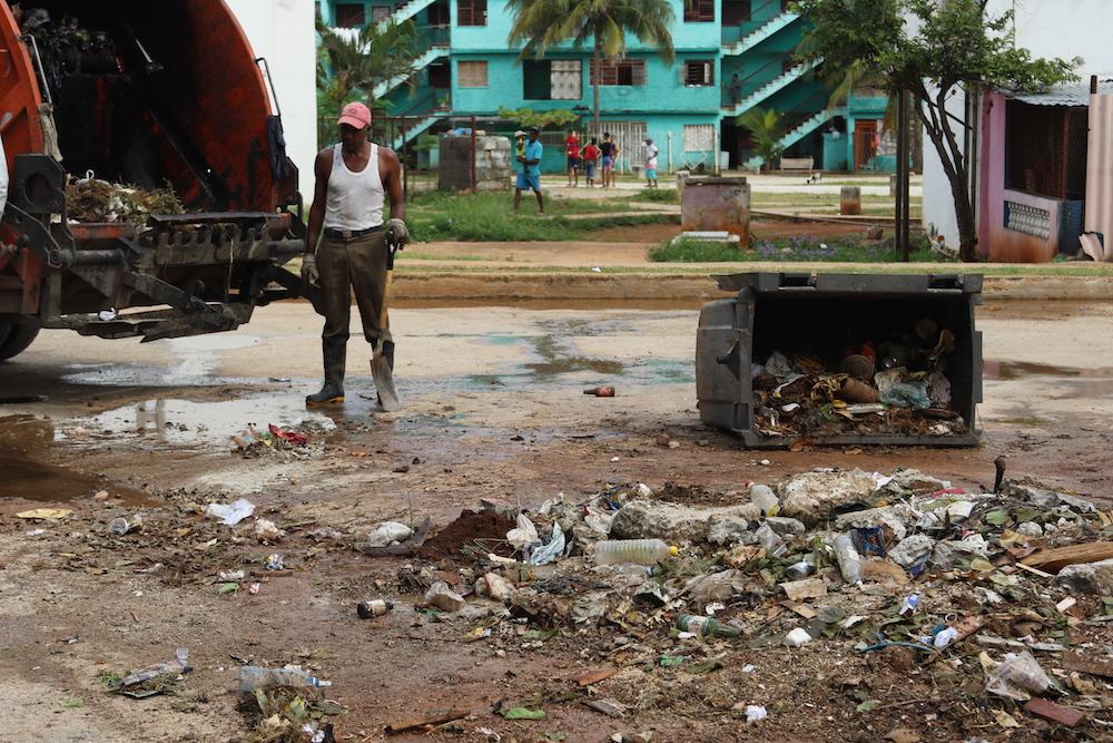 En esta zona existen 24 puntos para depositar residuos sólidos (Foto: Jorge Carrasco)