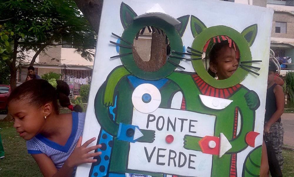 La gente ha dado rienda a la creatividad y a la participación (Foto: Mónica Baró)