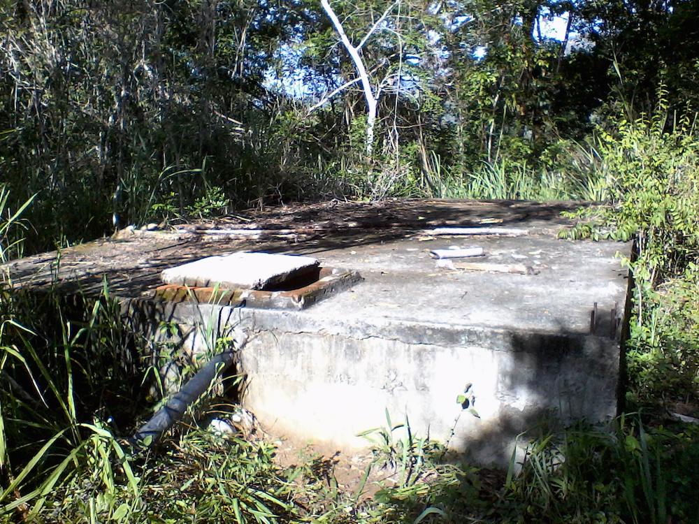 El acueducto de San Félix consiste en el trasvase de un manantial a una caja de agua y de esta a la red de mangueras hacia las casas, todo por fuerza de gravedad(Foto: Lian Morales)