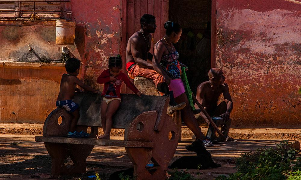 En Marimón, durante estos once años, murieron varios viejos, y también nacieron niños (Foto: Julio Batista)