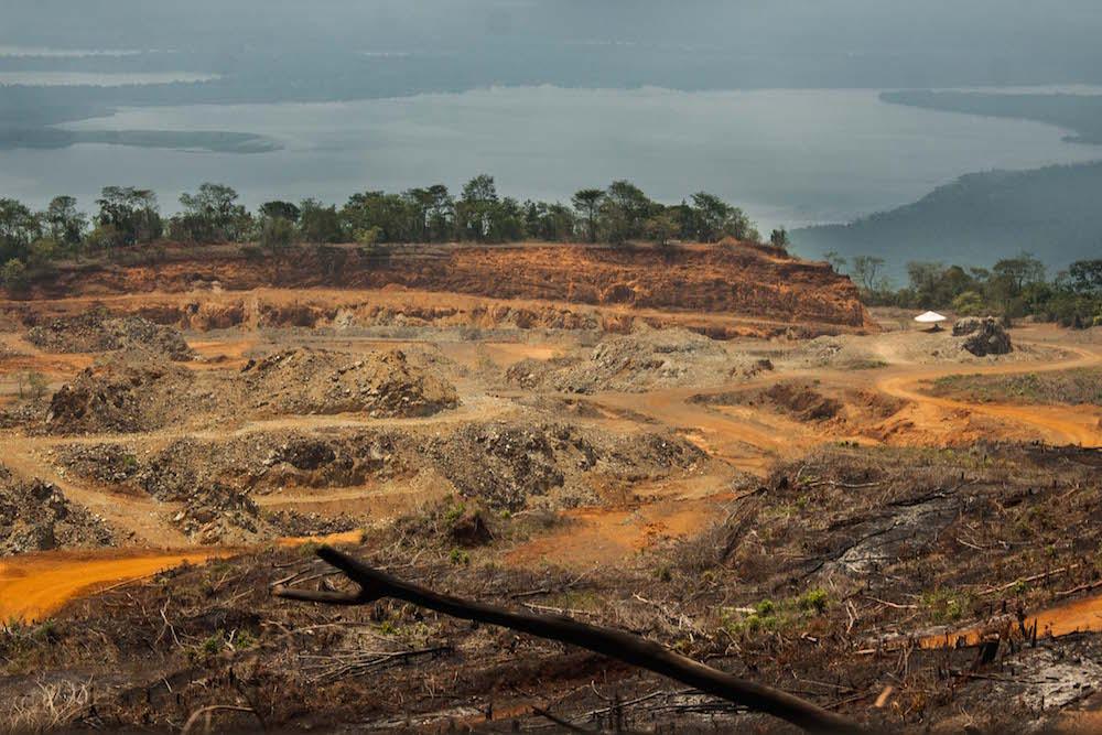 Mina de extracción de níquel en Guateamala (Foto: Alejandro Ramírez Anderson)