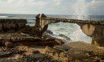 Y el muro quedó en modo puente (Foto: Jorge Ricardo)