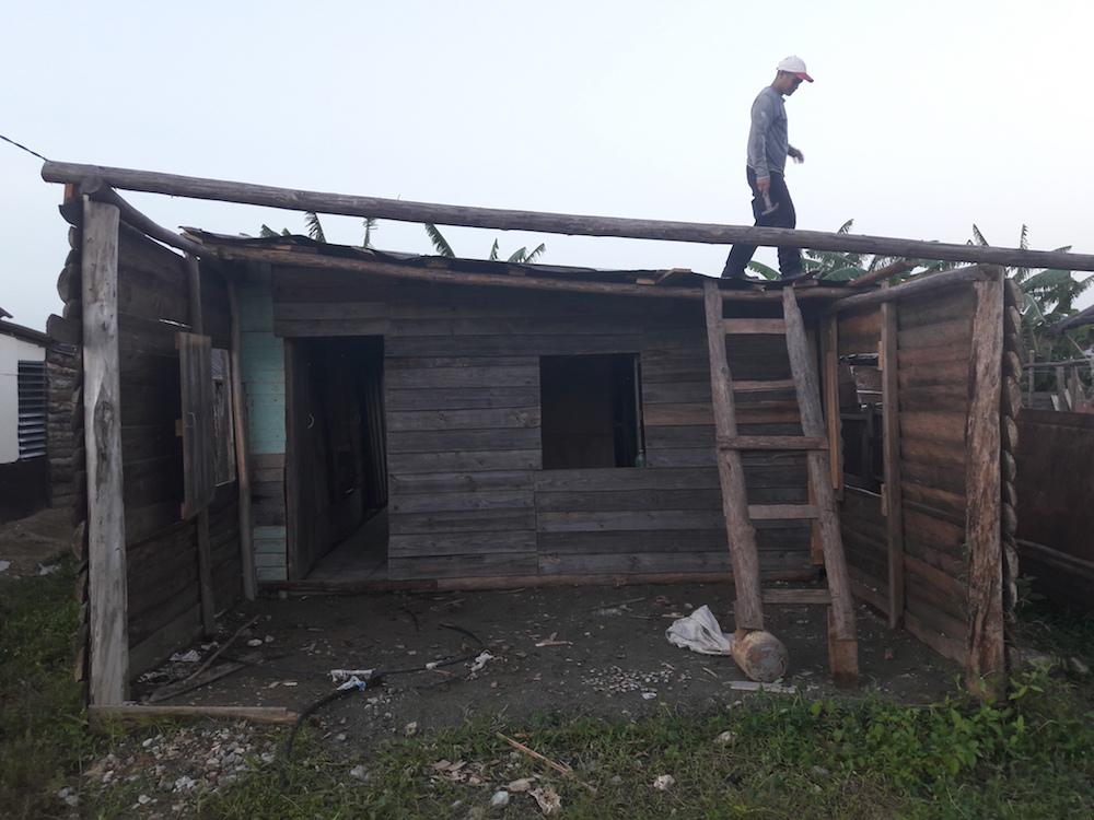 Afectaciones en las viviendas por el tornado