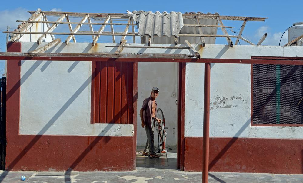 El fondo habitacional de Caibarién quedó seriamente afectado