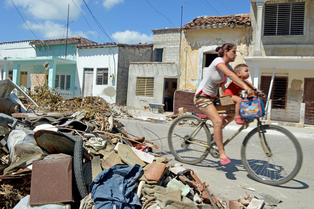 En Caibarién, la furia de Irma descargó toda su fuerza y jugó a su antojo con este poblado al centro-norte de Cuba