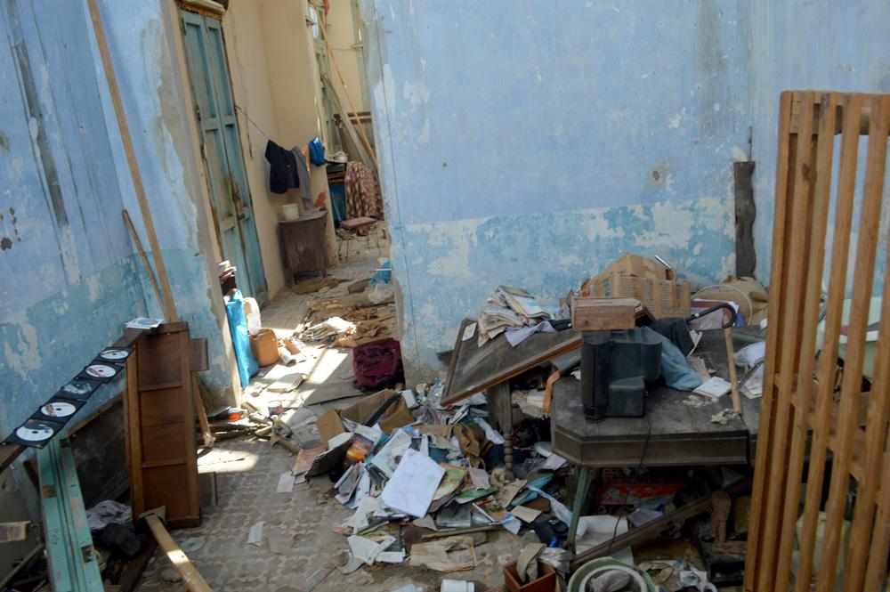 Este devastador panorama fue en el que se encontraron muchas familias al regresar a sus hogares