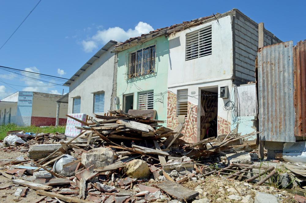La zona próxima al mar fue la más vulnerable a los azotes de Irma, que llegó a este territorio con categoría 4