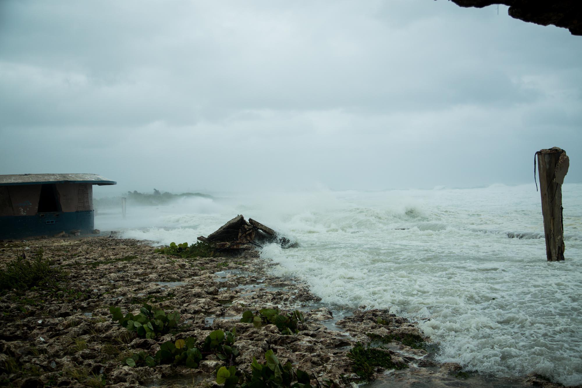 Aunque Alamar es un reparto costero, no se vio afectado por las penetraciones del mar (Foto: Jorge Ricardo)