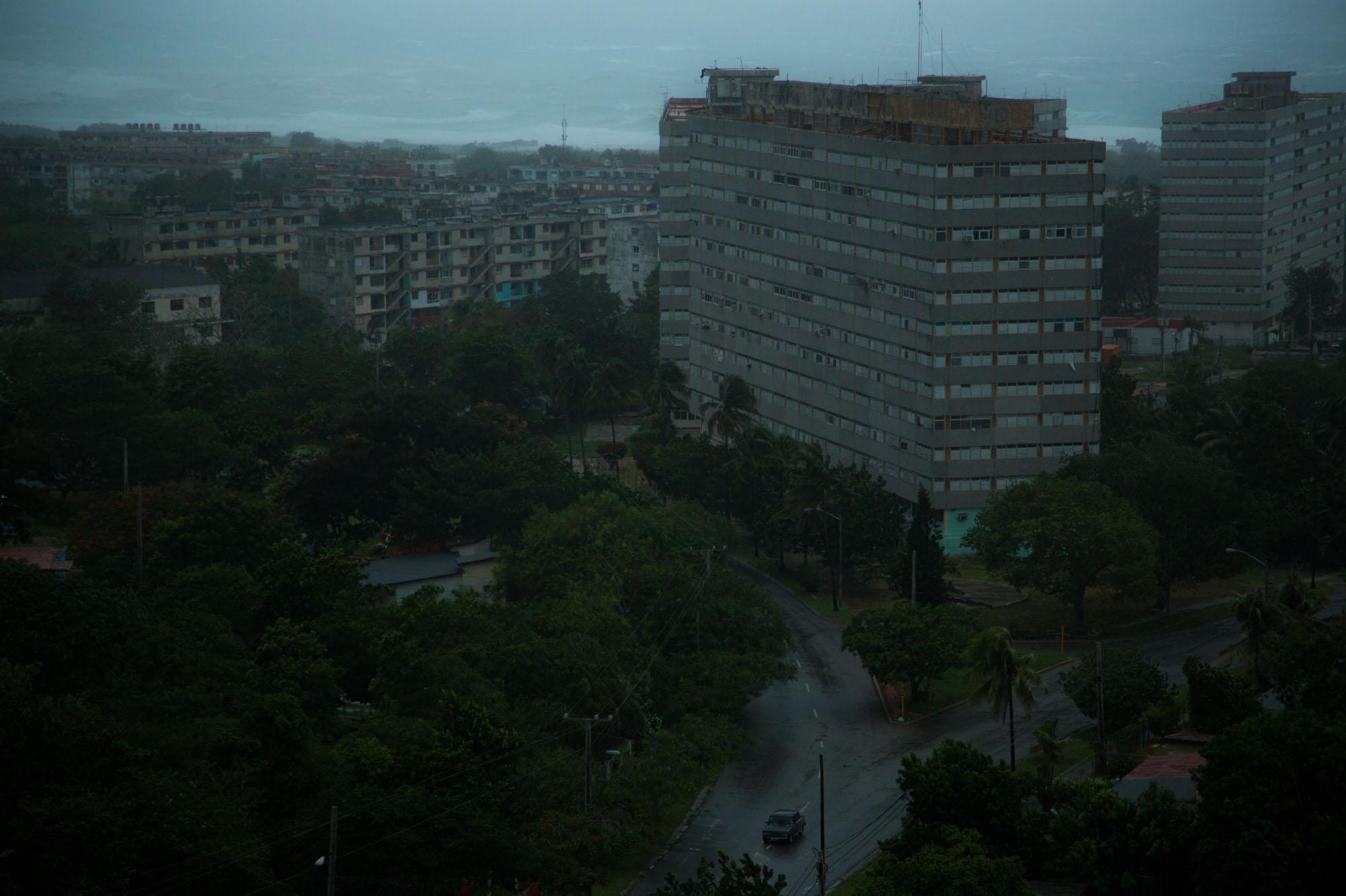 La desolación en las calles (Foto: Jorge Ricardo)