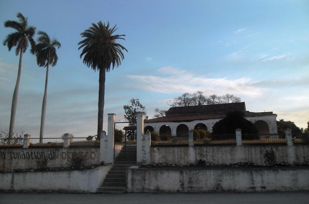 Casa del Azucarero, hoy funeraria provisional (Foto: Jesús Arencibia)