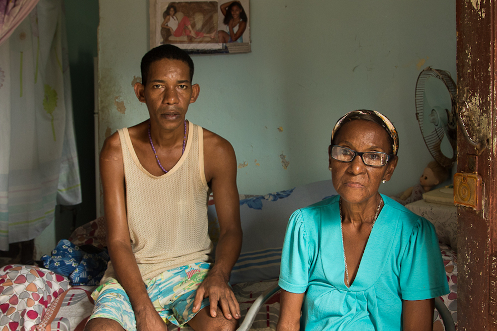 Sonia y su hijo Yak (Foto: Ismario Rodríguez)