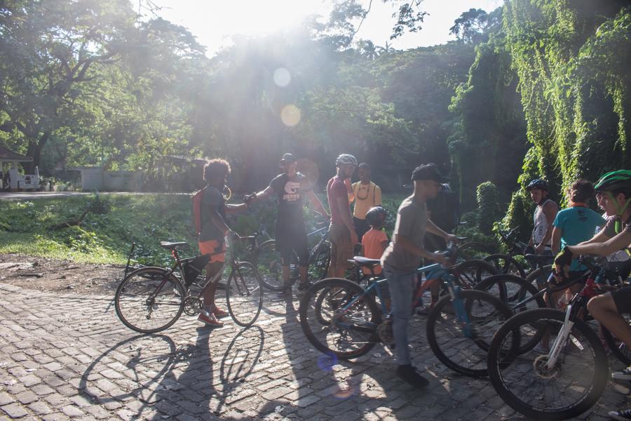 Este evento formó parte del Día Mundial de la Bicicleta, decretado por la ONU en abril pasado