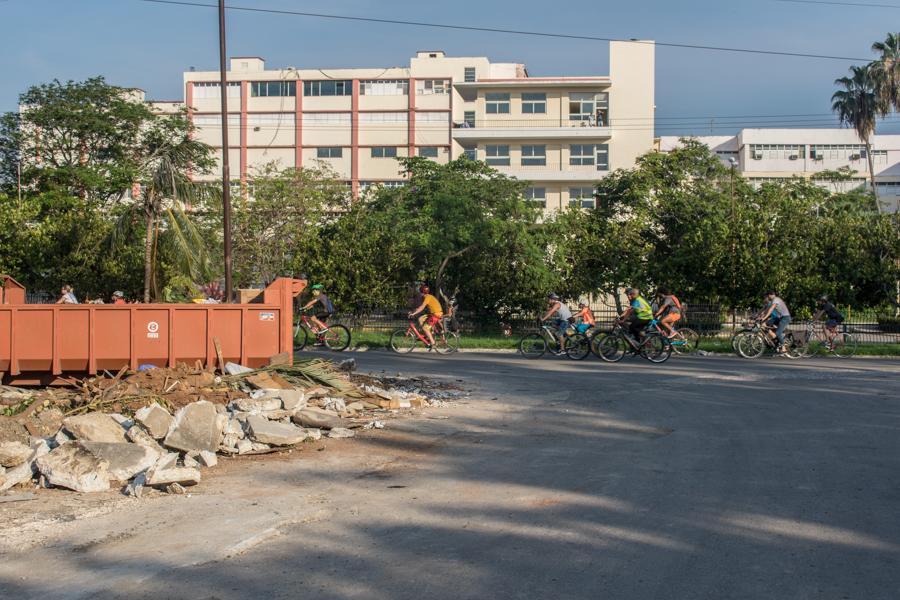 Como promedio, las rutas ideadas para Bicicleteando Habana recorren de 15 km a 24 km por la capital