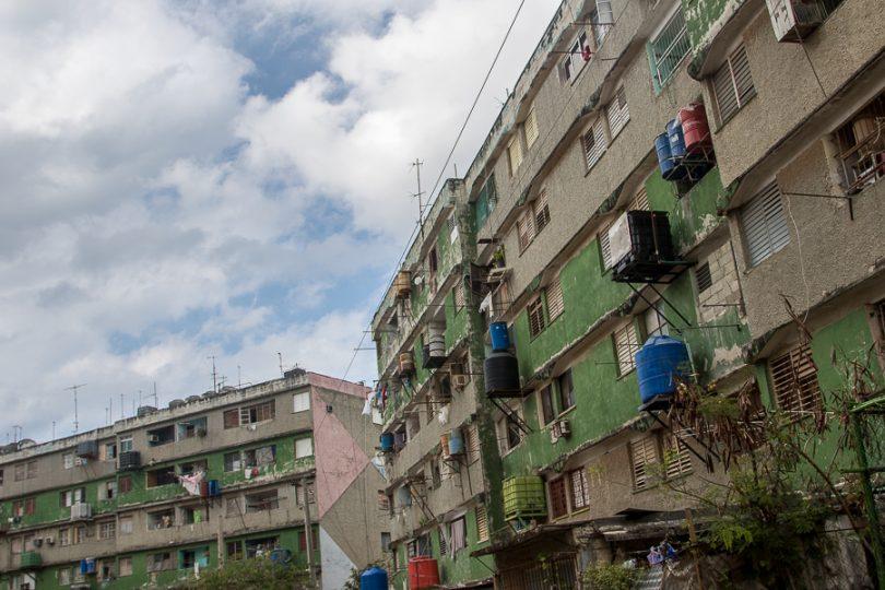 100 edificios y 22 casas en no más de tres kilómetros cuadrados (Foto: Ismario Rodríguez)