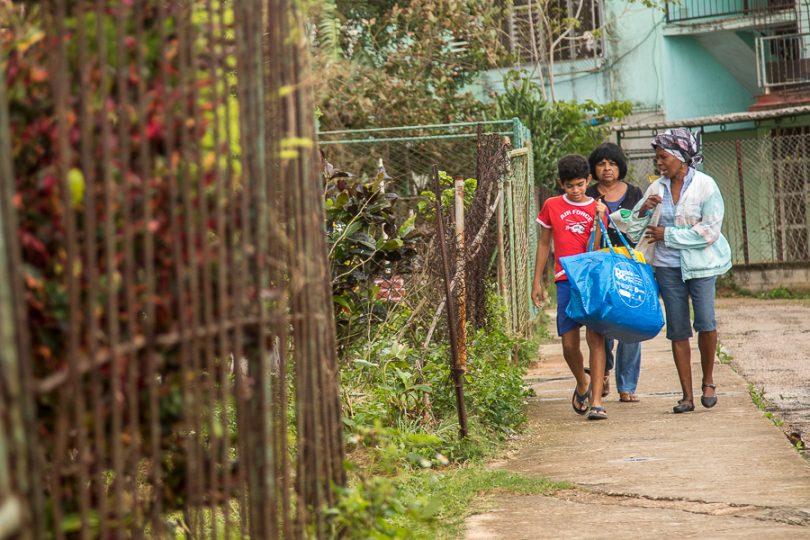 La basura es un problema en este barrio (Foto: Ismario Rodríguez)