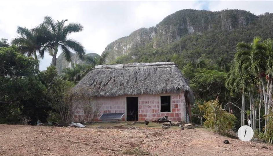 Vivienda de Ariel Ruiz Urquiola en la Sierra del Infierno (Foto: Ismario Rodríguez)