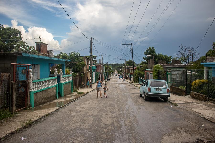 Calle Villalobo, en San Miguel del Padrón (Foto: Ismario Rodríguez)