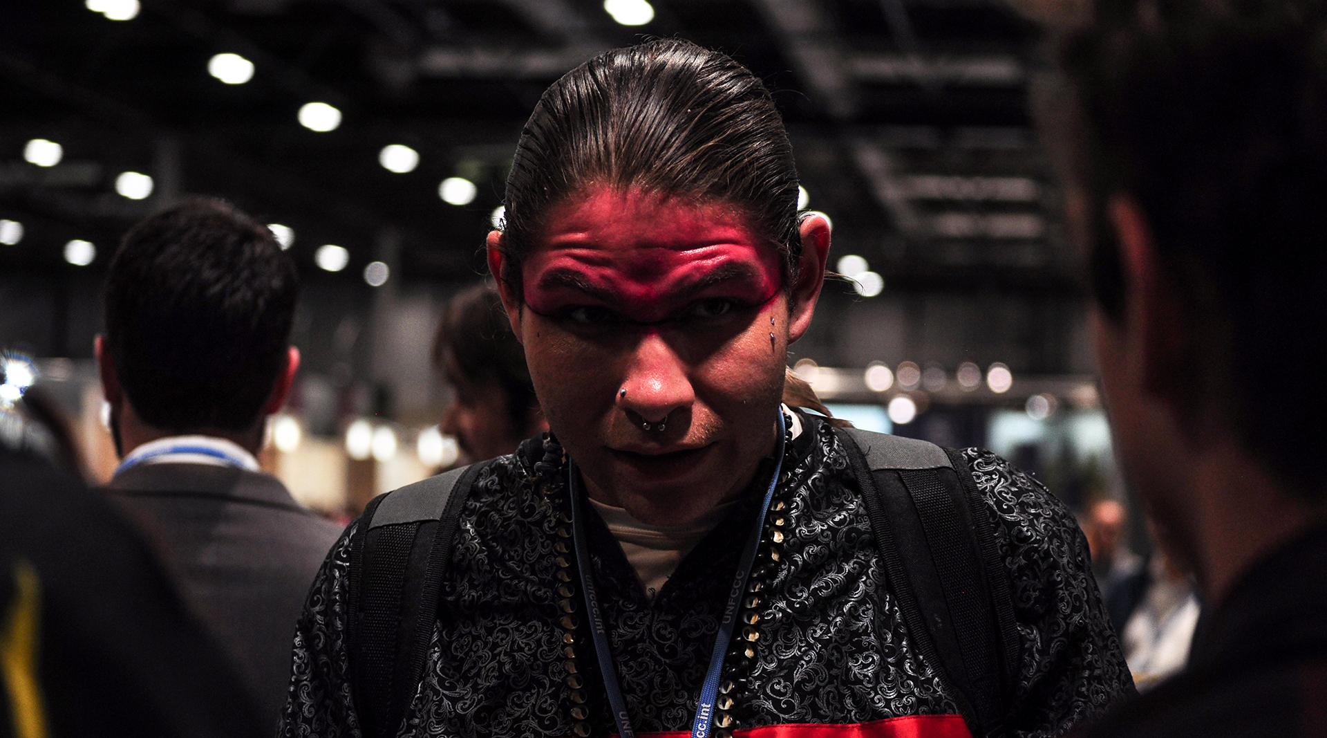 La participación de los jóvenes y los pueblos originarios ha sido un punto de presión social notable en la COP 25 (Foto: Julio Batista).