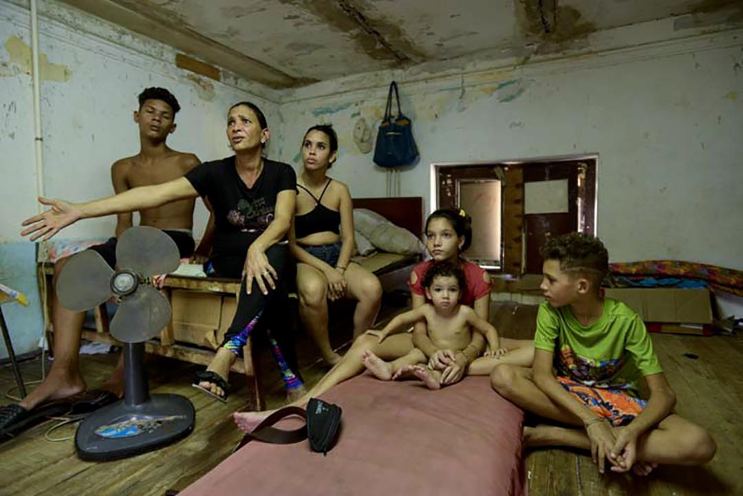 Cuatro de los hijos de Yanara son asmáticos (Foto: Abril).