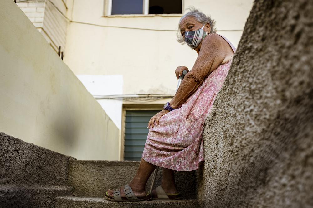 Flora Amparo Castañeda y lleva seis décadas viviendo aquí Foto: Hansel Leyva Fanego