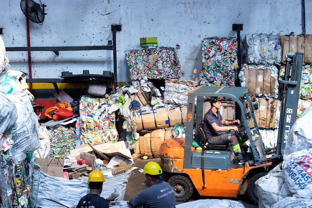 Gracias a las luchas de los recicladores y recicladoras, desde 2013 Buenos Aires tiene un sistema mixto de recolección de residuos. Foto: Julieta Ortiz.