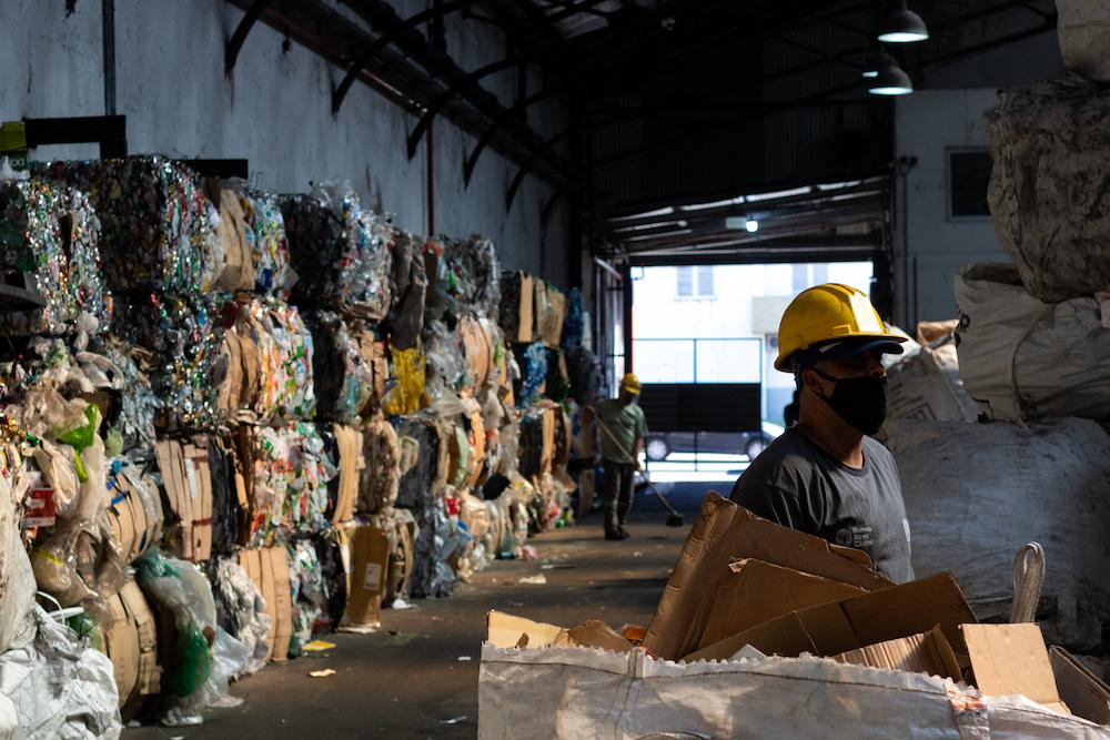 La pandemia de Covid19 afectó la actividad de los recicladores. Foto: Julieta Ortiz.